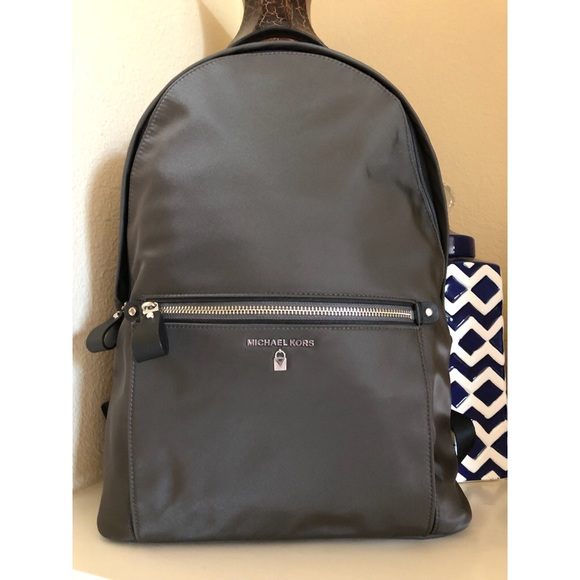 794688b3c0a196 Michael Kors Bags | Md Sale Nwtmk Large Kelsey Backpack Graphite ...